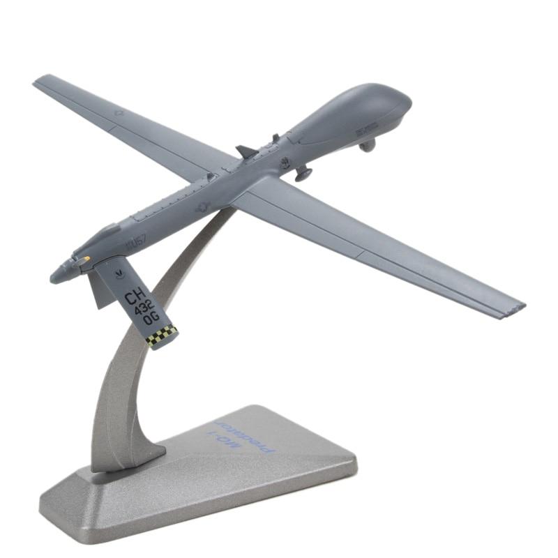 JASON TUTU Aircraft Plane Model MQ-1 Predator Drone Reconnaissance Toy Collection Airplane Model Diecast 1:72 Metal Planes