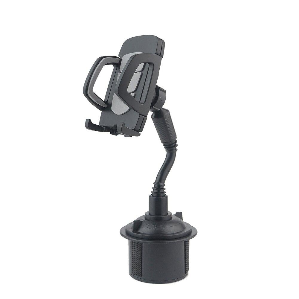 Adjustable Car Bracket Universal Mount Gooseneck Cup Holder Cradle For Cell Phone Mobile Phone Bracket Car Adjustable Bracket