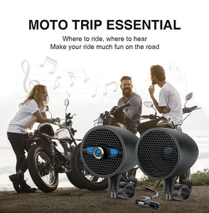 Image 5 - Lexin LX S3 סופר מוסיקה אודיו נגן עם FM רדיו מקלט Bluetooth רמקולים עבור אופנוע עמיד למים נייד סטריאו