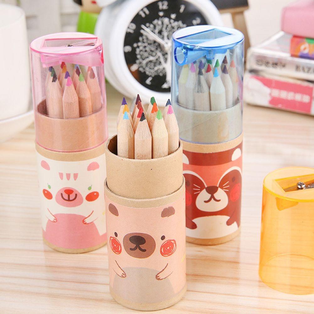 Набор цветных карандашей, 12 цветов/набор, набор цветных карандашей, Набор цветных карандашей, высококачественные цветные карандаши, подарк...