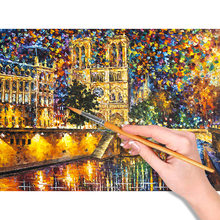 40 x 50cm Paint by Numbers Kit DIY Oil Painting Without Frame For Home Decoration Notre Dame de Paris 40 x 50cm(China)
