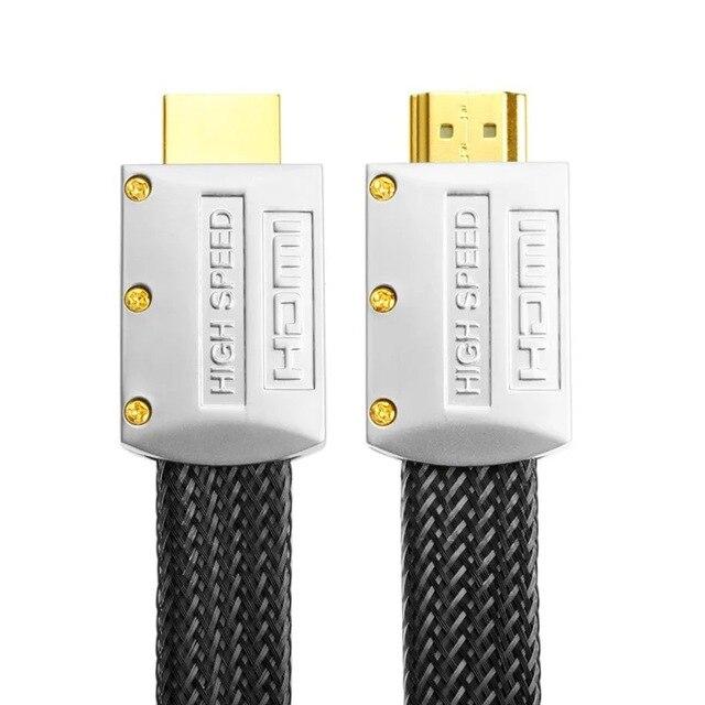 2019 0.3 M 1 M ad alta  Placcato Oro spina HD monitor connettore 1.4 V 1080 P maschio a maschio cavo Micro HDMI