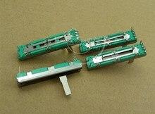 Потенциометр B10K B20K B50K B100K 45 мм, оригинальный потенциометр B10K 45 мм B10KX2 B20K * 2 B50K * 2