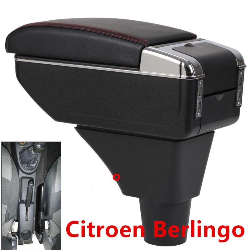 For Citroen Berlingo armrest box usb interface