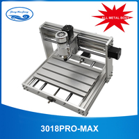 CNC 3018pro Metal With ER11 GRBL control with 200W Spindle,3 Axis pcb Milling machine,Diy Wood Router support laser engraving