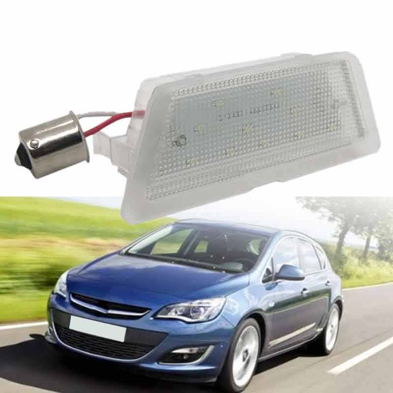 1X Led Led Aantal Kenteken Licht Voor Opel Astra G 98-04 Auto Licentie Licht Auto Styling