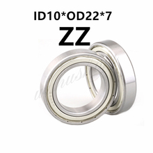 Bearing 63900 63900Z 63900ZZ R-2210 10x22x8  Shielded Miniature MINI Deep Groove Ball Bearings, Single Row 6900W8 10*22*8 цена 2017