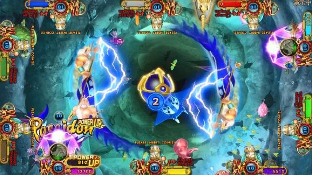 Hottest  Hunter 8 Player Casino Ocean King 3 Plus Poseidon's Realm 3