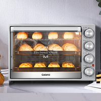40L Large Capacity Oven Household Baking Small Automatic Multifunctional Pizza Toaster Oven Kitchen Appliances Electric