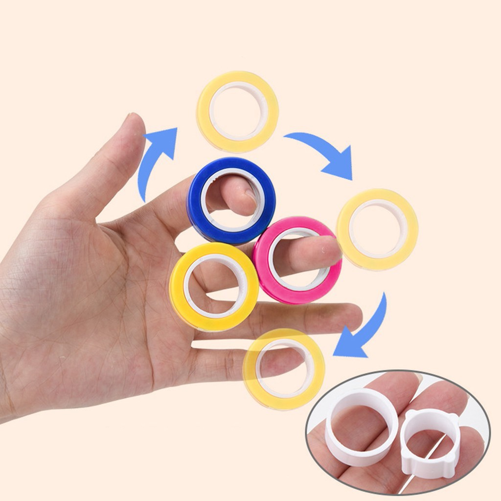 Toy Ring Bracelet Fidget-Toys Stress Magnetic Unzip Zabawki img3
