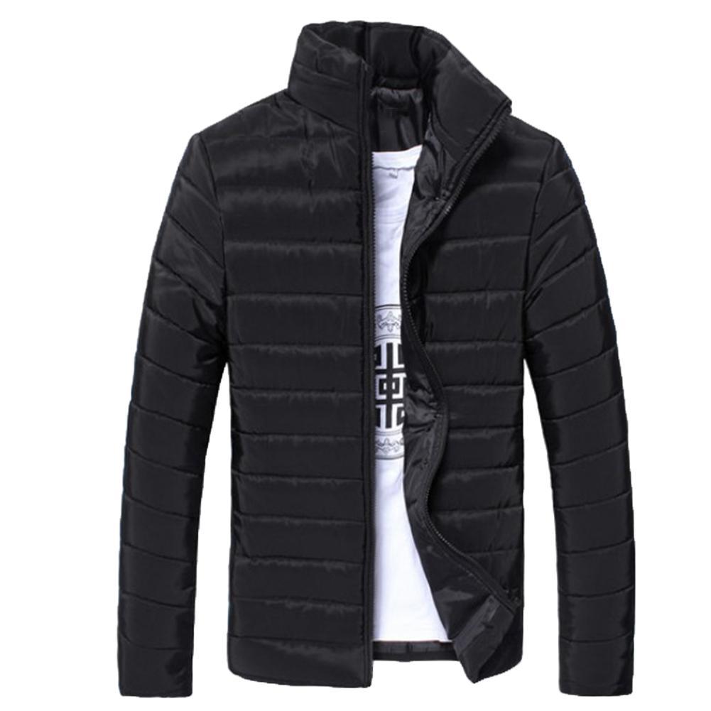 Winter Ski Coat Light Down Jacket Men's Fashion Hooded Short Large Ultra-thin Lightweight Youth Slim Coat Down Jackets
