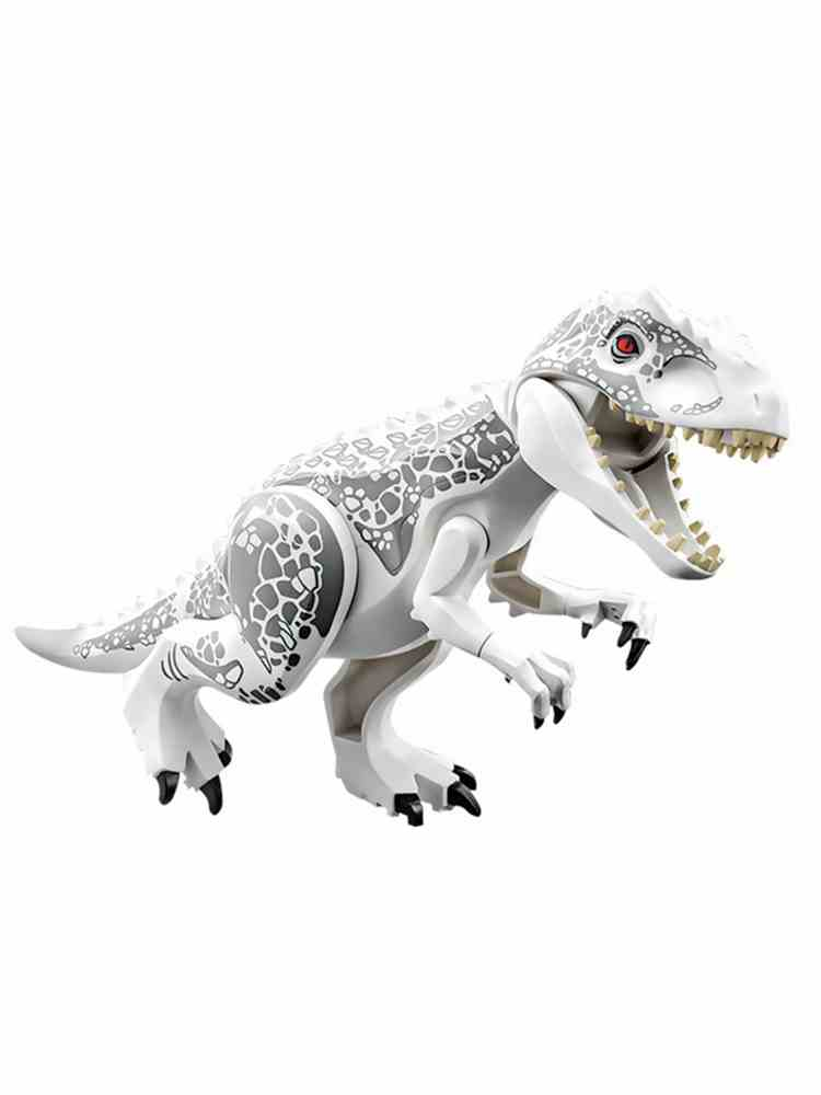 DIY Blocks Models Park Dinosaurs-Tyrannosaurus Kids Toys Creator-Animals Indominus Rex