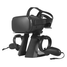 Vr Storage Bracket Stand Holder for Oculus Quest / Rift S Vr Headset and Controller Detachable Vr Display(China)