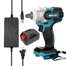 Screw-Driver Battery Impact-Wrench Cordless Brushless-Motor High-Torque Charge-Device