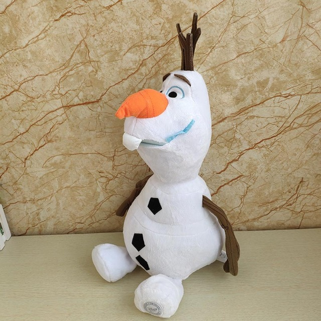 Disney Frozen 2 23cm/30cm/50cm Snowman Olaf Plush Toys Stuffed Plush Dolls Kawaii Soft Stuffed Animals For Kids Christmas Gifts 5