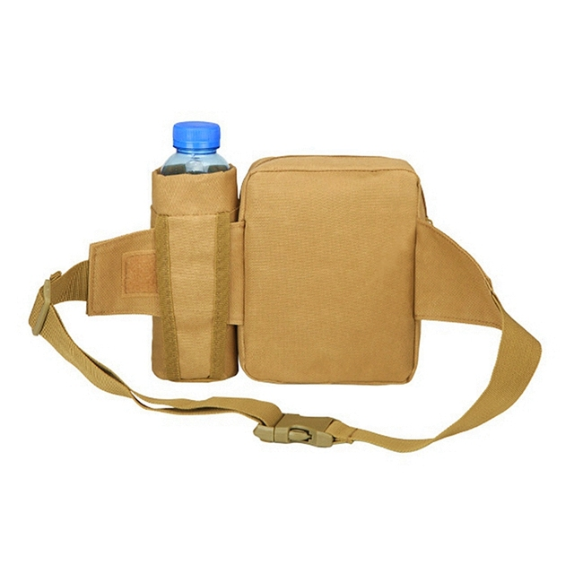 Tactical Men Waist Pack Nylon Hiking Water Bottle Phone Pouch Outdoor Sports Army Military Hunting Climbing Camping Belt Bag 3