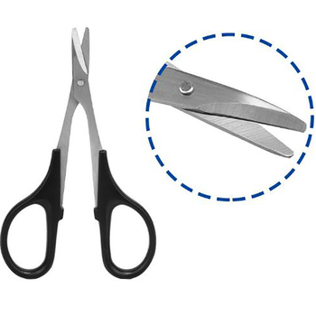 For HSP 80106 RC Model Tools Curved Scissors 1:5 1:8 1:10 1:18 Car Shell Scissors image