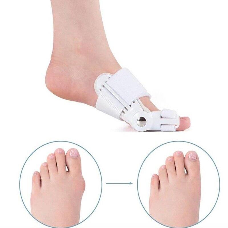 Alisador de dedos grandes de juanete Corrector de dolor de pies Hallux Valgus corrección ortopédica suministros pedicura cuidado de los pies