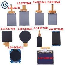 Display LCD Touch Screen Módulo Motorista ST7789 GC9A01 ST7789 ILI9341 ST7796S SSD1327 1.14