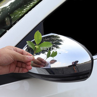 For Nissan Sylphy 2019 2020 ABS Chrome Side Door Rear View Mirror Cover Trim Car Styling