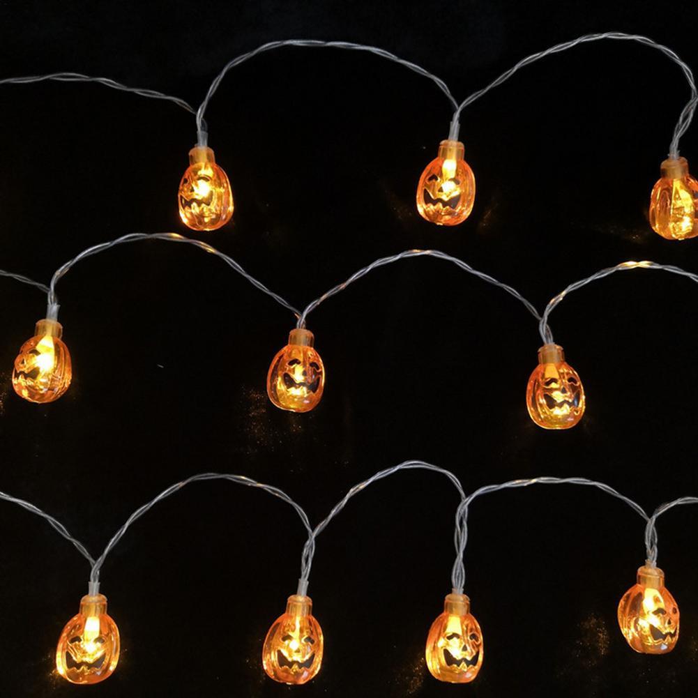 halloween decorativo luz corda led abobora lanterna 04