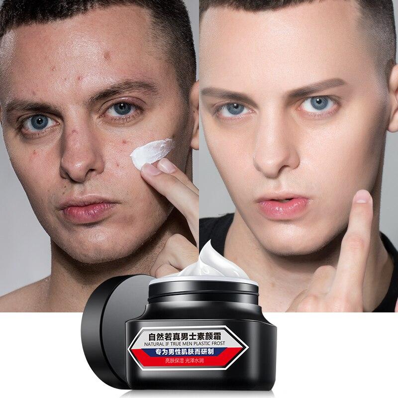 50ml Men Skin Whitening Face Cream Concealer Ointment Cream Nutrition Moisturizing Skin Brighten Cream Skin Care Makeup Base
