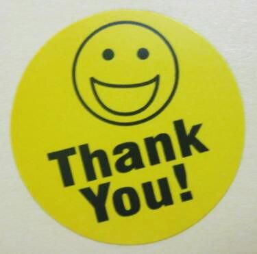 10000 pcs lote 25mm de diametro amarelo smiley rosto adesivo de papel auto adesivo artigo nao
