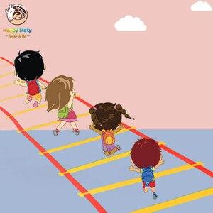 Image 1 - 就学前教育援助スポーツおもちゃホップスコッチジャンプにグリッドの子供感覚統合訓練屋外楽しいゲームのおもちゃサークル