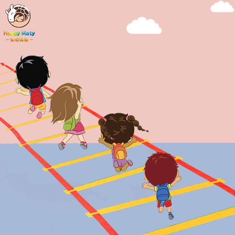 Preschool Teaching Aid Sports Toy Hopscotch Jump To The Grid Children Sensory Integration Training Outdoor Fun Games Toys Circle