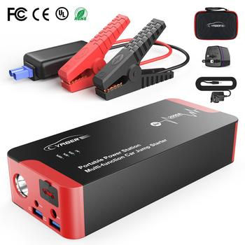 2020 Car Jump Starter 2000A Emergency 12V Jumpstarter Starting Device Battery Power Bank Auto Booster 22000mAh 100W AC Output emergency 12v car lithium battery jump starter with anti over charge clamps dual usb output