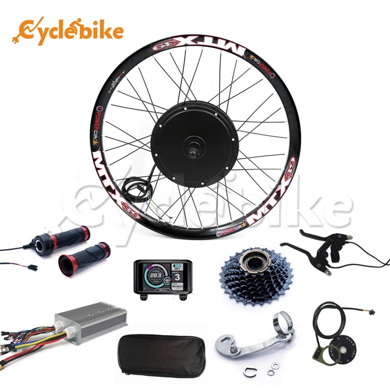 TFT display system V3 48 v-72 v 80A 5000w elektrische bike conversion kit