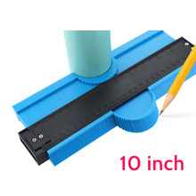 Upgrade Contour Meter Gauge Flooring 10inch duplicator Ruler Form Duplication Tool for Measurement Woodworking Various Shapes