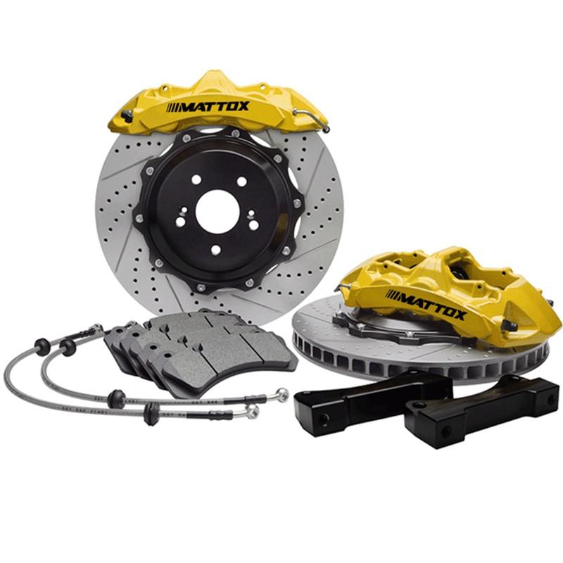 Mattox Racing Performance Car Brake Kit with 378*34 Disc 6POT PISTON Caliper Brake System FOR Chevrolet