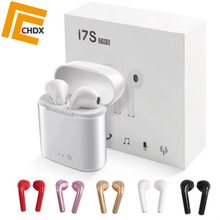 CHDX Wireless Earphones Bluetooth Earbuds Noise Reduction Headphone Headset i7s for Mobile Phone Good Quality