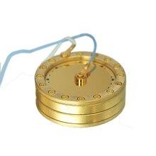 Конденсаторный микрофон с большой диафрагмой Copperize, серебряное золото, 34 мм, капсульный картридж, ядро, микрофонная капсула для Neumann, замена DIY