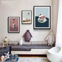 Мультфильм абстрактный рисунок искусство картина домашний декор