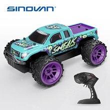 Sinovan RC voitures 2.4GHz haute vitesse RC voiture 1:24 télécommande voiture jouets pour enfants refroidir hors route Rar enfants jouets cadeaux