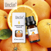 Unclin 10ml Orange Plant Pure Essential Oil with Gift Box Pe