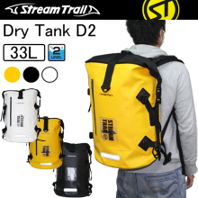 Dry-Bag Backpack Roll-Top Stream Waterproof Drytank Trail Padded-Back Closure 33L Heavy-Duty