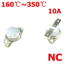 Термостатического переключателя 165 170 200 220 250 280 300 градусов Цельсия NC нормально закрытый Керамика Термальность Сенсор Температура переключа...