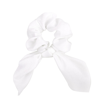 New Chiffon Bowknot Elastic Hair Bands For Women Girls Solid Color Scrunchies Headband Hair Ties Ponytail Holder Hair Accessorie 12