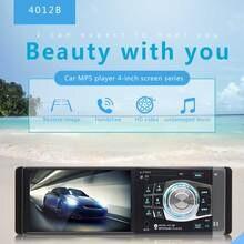 1din Автомобильный видеорегистратор 4,1 дюймов Автомобильный MP5/MP4/MP3 плеер FM карта U диск BT Реверсивный заднего вида HD Автомобильный Bluetooth многофункциональный MP3
