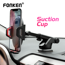 FONKEN Suction Cup Phone Car Holder Scalable Glass Desk in