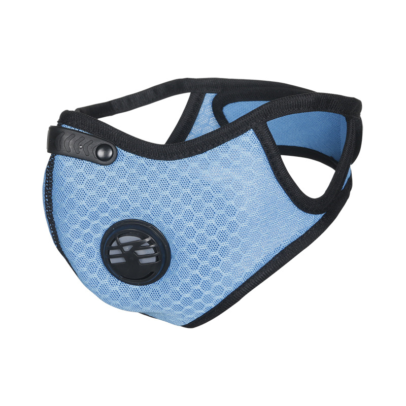H432f6b48da3e4824af81b5b766f270c7z Air Filter Sport Face Mask Training Bicycle Cycling Half Face Mask Bike Running Jogging Facemask Anti Pollution Mask Q1048