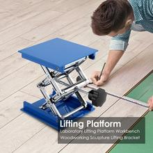 100x100x160mm Aluminum Router Lift Table Woodworking Engraving Lab Lifting Stand Rack lift platform Woodworking Benches