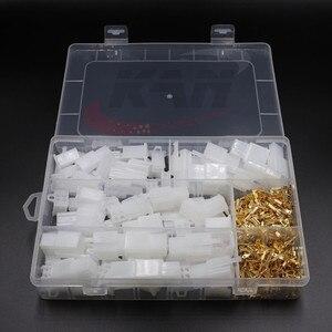 380 шт/комплект, 2,8 мм 2 3 4 6-контактный клеммный разъем, фиксированный крюк, мужской, Женский клеммы