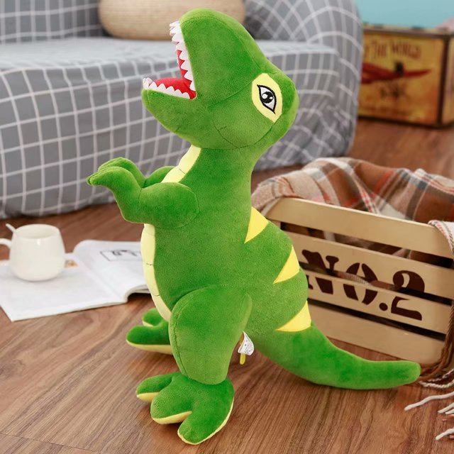Big Cartoon Dinosaur Plush Toys Giant Tyrannosaurus Rex Plush Dolls Stuffed Toys For Children Boys Classic Toys birthday gifts
