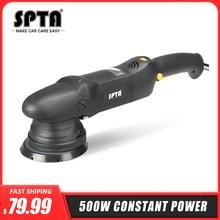 SPTA 5inch & 6Inch Car Polisher 15mm Dual Action Polisher 850W Variable Speed Burnish Buffing Machine Home DIY Car Polisher