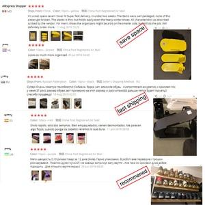 Image 5 - 10pcs Regolabile Scarpiera per Organizer Scarpe Calzature di Immagazzinaggio Del Basamento di Sostegno Slot Per Risparmio di Spazio Cabinet Closet Shoe Holder
