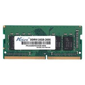 Asint ddr4 16 gb 2666 mhz portátil memória 240 pinos baixo consumo de energia notebook ram dimm